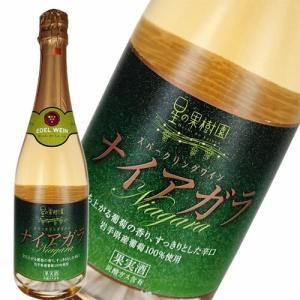 スパークリングワイン 白 辛口 エーデルワイン 星の果樹園 ナイアガラ スパークリングワイン 720ml 日本 岩手|ichiishop