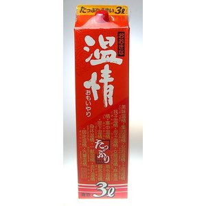 【小山本家酒造】おおきな 温情 パック 3000ml 【8個まで1個口配送可能】|ichiishop