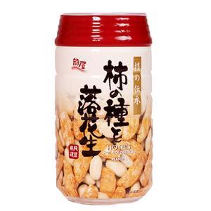 柿の種と落花生  龍屋物産  ビールのつまみ 120g PET容器入りおつまみ 350ml缶と同じサイズ|ichiishop