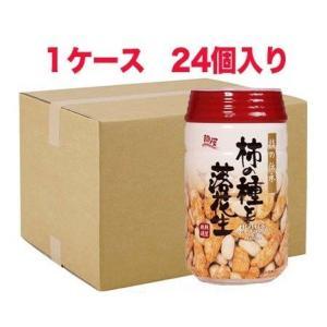 ケース 24個 柿の種と落花生 ビールのつまみ 120g 350ml缶と同じサイズのPET容器に入ったおつまみ 龍屋物産|ichiishop