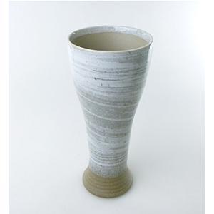 【陶友】青磁刷毛 ビール大 焼酎・ビールにぴったりの陶製カップ|ichiishop
