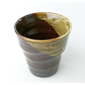 【陶友】濃茶フリーカップ 焼酎・ビールにぴったりの陶製カップ|ichiishop