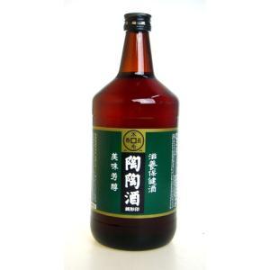 【陶陶酒】陶陶酒 銭形印・辛口 1000ml 滋養強壮・健康酒 ichiishop