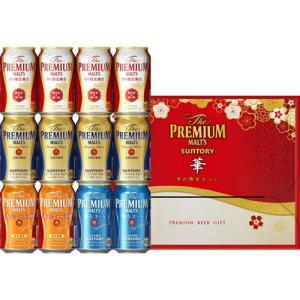 お歳暮 御歳暮 ギフト プレゼント 2019 ビールセット ザ・プレミアム・モルツ −華− 冬の限定5種セット YB30P 無料包装 送料無料|ichiishop