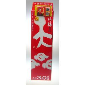 【宝酒造】松竹梅「天」紙パック 3000ml 【8個まで1個口配送可能】|ichiishop