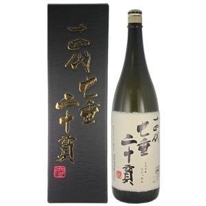 日本酒 高木酒造 十四代 七垂二十貫 純米大吟醸 1800ml 山形 箱付 要冷蔵|ichiishop