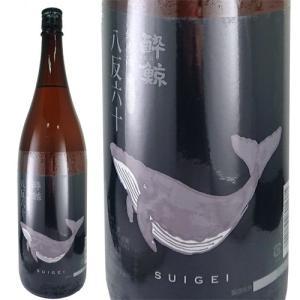 日本酒 酔鯨酒造 酔鯨 純米酒 八反錦 60% 1800ml 高知 ichiishop