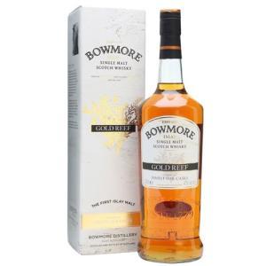 ボウモア ゴールドリーフ 1000ml シングルモルト スコッチ ウイスキー 43度 箱付|ichiishop