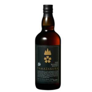 笹の川酒造 ブレンデッドウイスキー 山桜 黒ラベル 700ml 40度 モルト グレーン|ichiishop