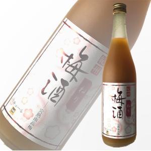 梅酒 リキュール 吉村秀雄商店 紀州完熟南高梅 ねり梅酒 720ml 13度 和歌山|ichiishop