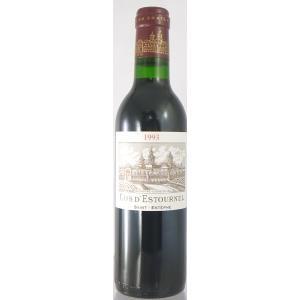 シャトー・コス・デス ・トゥルネル[1993] ハーフ 375ml メドック二級 【高品質ワイン】|ichiishop