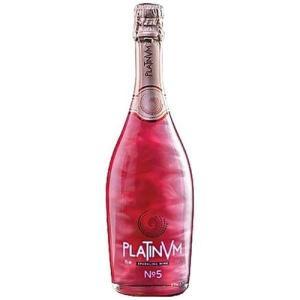 レッド ラメ入りスパークリングワイン プラチナム フレグランス ストロベリー&ミント No.5 750ml スペイン|ichiishop