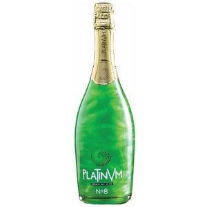 グリーン ラメ入りスパークリングワイン プラチナム フレグランス アップル&アマレット No.8 750ml スペイン|ichiishop