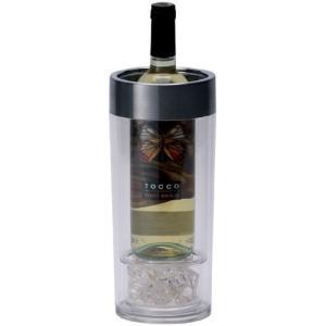 ワインクーラー ワイン オン アイス ボトルが濡れない ダブルウオール 二重構造 ファンヴィーノ コンパクト ボトル1本用 試飲会 ワイン会にも|ichiishop