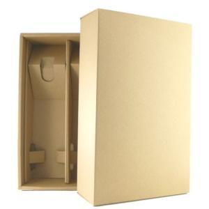 ギフトボックス ワイン・日本酒 四合瓶2本用 ギフト箱(入れる商品と一緒にご注文ください) ichiishop