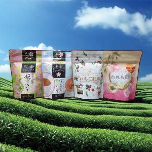 選べる フレーバーティー 紅茶 烏龍茶 煎茶 緑茶 3個 セット ティーバッグ いちご レモン 白桃 桜の商品画像 ナビ