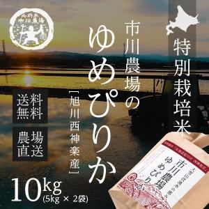 【農家直送】北海道産「ゆめぴりか」10kg【送料無料】...