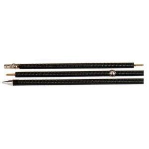 品名:黒うるし塗り千段巻棒  商品詳細: 三本つぎ金ネジ・金具付 長さ:210cm 直径:27mm