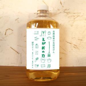 無添加洗剤 松の力 1リットル (お得な詰替用)
