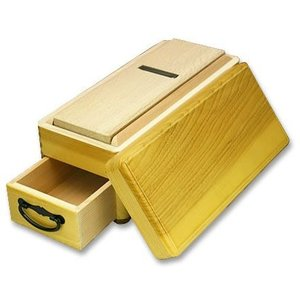 木製かつお削り器 かつ箱 大工小鉋SK鋼使用 【送料無料】|ichimonji