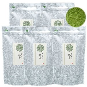 抹茶 京都産 宇治抹茶 500g (100g×5) お薄 日本茶 緑茶 パウダー 粉末 送料無料