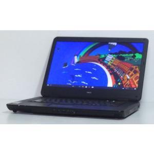 中古ノートパソコン A4サイズ Windows10 NEC VersaPro VK22EA-B Celeron900 2.2GHz 160GBハードディスク 15.6インチワイド液晶 DVDマルチ 無線LAN搭載 即使用可|ichioshiyasan
