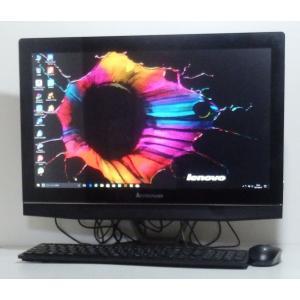 綺麗 中古デスクトップパソコン一体型 Windows10 LENOVO B40-30 CEleron 2.5GHz 500GB 21.5インチワイド DVDマルチ 無線LAN搭載 即使用可|ichioshiyasan