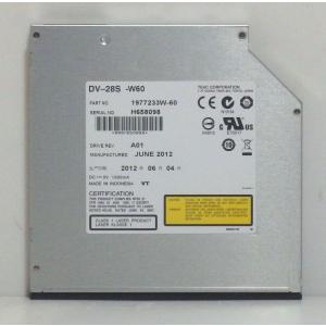 内蔵DVD-ROMドライブ TEAC製 スリム12.7mm厚 DV-28S-WN2 SATA接続 クリックポスト便送料無料 代引不可