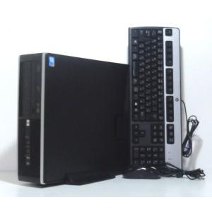 中古デスクトップパソコン Windows10 HP 8000 Elite SFF Core2 Duo 3.16GHz 250GB 4GB DVDマルチ 即使用可|ichioshiyasan