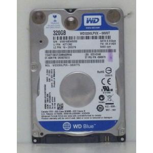 希少 薄型7mm厚 内蔵ハードディスク2.5インチ Western Digital製 WD3200LPVX 320GB SATA接続 動作確認済 クリックポスト便送料無料 代引不可 到着日時指定不可|ichioshiyasan
