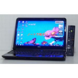 地デジ搭載 中古ノートパソコン A4サイズ Windows7 富士通 Lifebook AH550/3BT Core i3 2.4GHz 640GB 15.6ワイド ブルーレィ WEBカメラ 無線LAN 即使用可|ichioshiyasan
