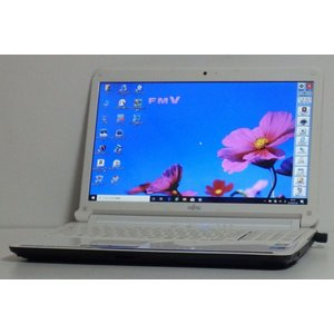 Windows10 富士通 LIFEBOOK AH550/3B(FMVA553BWG) Core i...