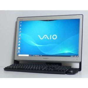 Windows10で地デジが観られます。中古デスクトップ一体型パソコン VAIO VPCJ117FJ...