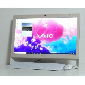 綺麗 中古デスクトップ一体型パソコン VAIO VPCJ23AJ Core i5 2.6GHz 21...