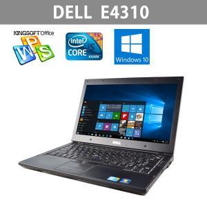 中古ノートパソコン   最新Windows10搭載 13.3インチ  DELL  E4310   高速Corei5   2.66GHz  メモリ4GB  HDD250GB  Office|ichiya1