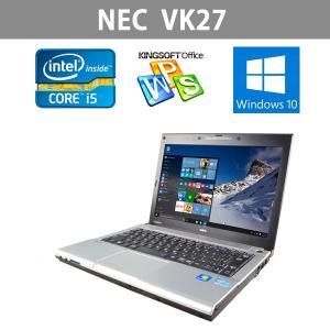 最新Win10搭載  中古ノートパソコン  12.1型  NEC VK27 第3世代 Core i5 2.7GHz 4GB 320GB kingoffice|ichiya1