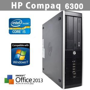 office2013搭載 中古パソコン HP Compaq 6300 SFF 最高Core i5 3470 3.2GHz メモリDDR3 4GB HDD500GB Windows7Pro (64bit) リカバリ DtoD 領域有|ichiya1