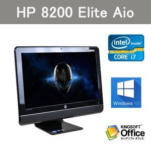 第2世代Core i5搭載 中古パソコン一体型 23型ワイド HP 8200 AIO  メモリ 4GB  大容量HDD500GB  Win10|ichiya1