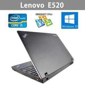 Win10搭載  中古ノートパソコン  Lenovo 大画面15.6型ワイド  E520   第2世代Core i5 2.4GHz  メモリ4GB   超大容量500GB ichiya1 03
