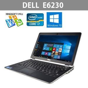 Win10搭載 中古ノートパソコン DELL E6230 12.5型ワイド  第3世代Core i7 2.9GHz   メモリ4GB 大容量HDD320GB  リカバリDtoD領域有 office|ichiya1