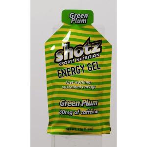 shotz ENERGY GEL ショッツ エナジージェル グリーンプラム味 icisp