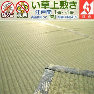 い草カーペット 上敷き 八畳 8畳 萩 江戸間 352×352cm 6サイズ規格 1畳〜8畳 送料無...