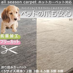 カーペット 二畳 2畳 THワンズライフ ホットカーペット対応 176×176cm 5サイズ規格 2畳〜8畳 アイコン