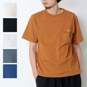 【40% OFF】Jackman (ジャックマン) Pocket T-shirt / ポケットTシャ...