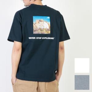 THE NORTH FACE (ザノースフェイス) S/S Square Logo Joshua Tree Tee / ショートスリーブスクエアロゴジョシュアツリーTシャツ|icora