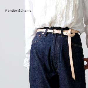 Hender Scheme (エンダースキーマ) natural patent tail belt ...