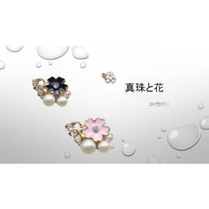 真珠と花のモチーフ|icot-onlin