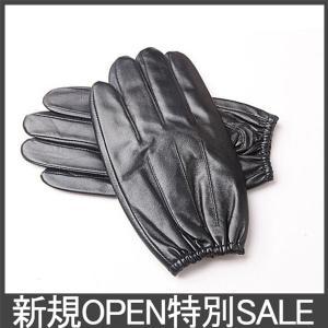レザーグローブ 手袋 メンズ レザー 革 防寒 スマートフォ...