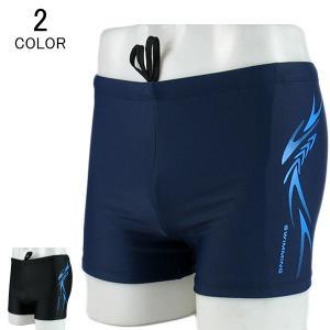 水着 競泳水着 メンズ ショートパンツ 水泳パンツ 男性 大人 速乾 体型カバー スイミングウェア ...