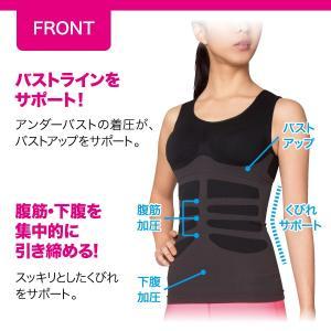 シックスパックシェイプインナー メーカー正規品 コンプレッションインナー 腹筋女子 下腹 加圧 引き締め|idea-info|02